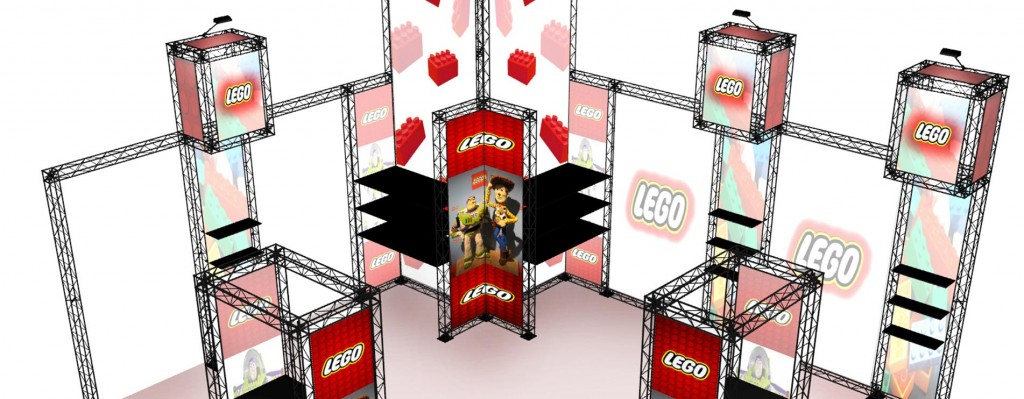 Lego Exhibition Stand