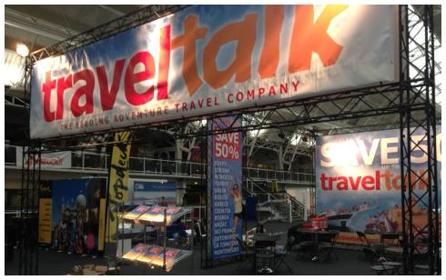 TNT Travel Show - 200m2 Exhibition Stands