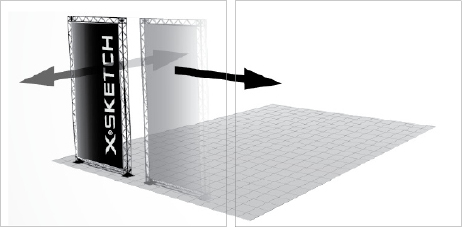X-Sketch Exhibition Stand Design Software