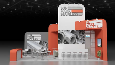 Exhibition Stand Design Example