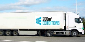 A 200m2 Branded Lorry