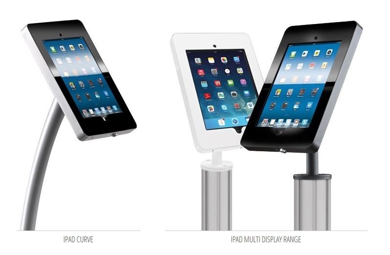 iPad Display Stands for Exhibitions