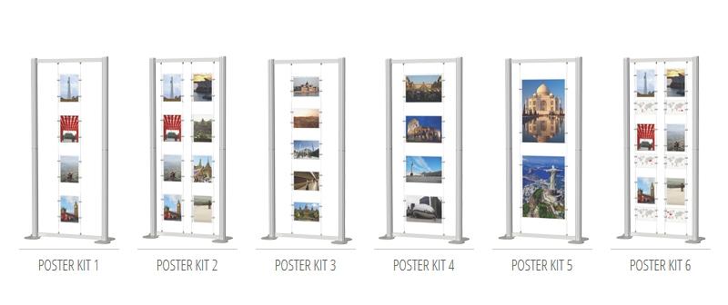 Portable Poster Kits