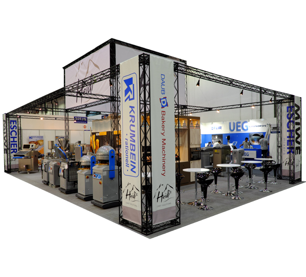 The X-15 Modular Stand at an Exhibition