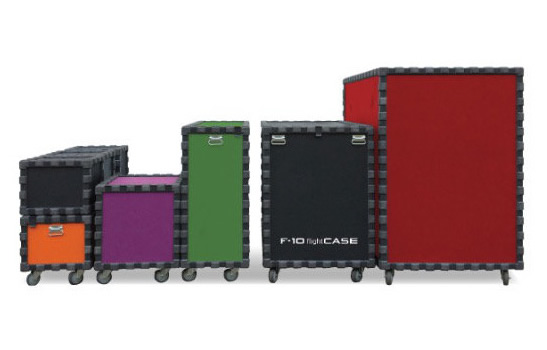 Our flight cases for transporting equipment safely